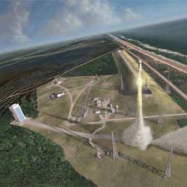 spaceport depiction from  NASA proposal