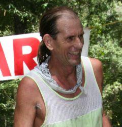 Seth at a finish line
