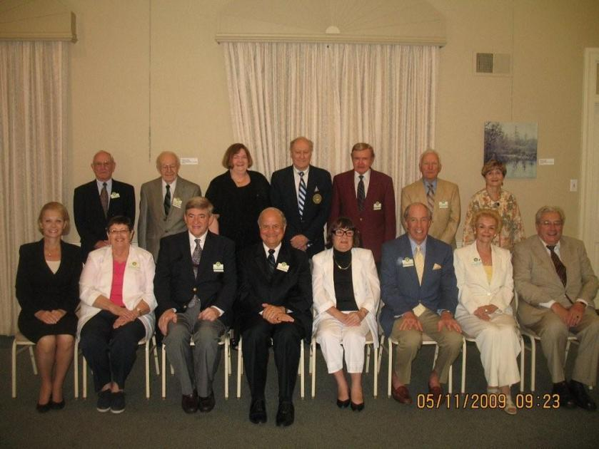 2009-10 Executive Board of the winter Park University Club